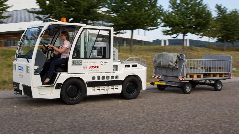 Bosch is working towards emissions-free mobility for off-highway