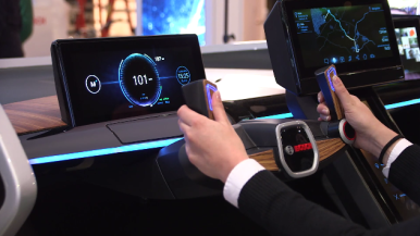 Bosch at CES 2017: Car as Third Living Space