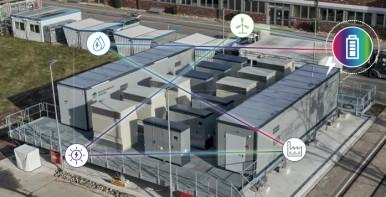 Offizielle Inbetriebnahme der Kraftwerksbatterie Heilbronn