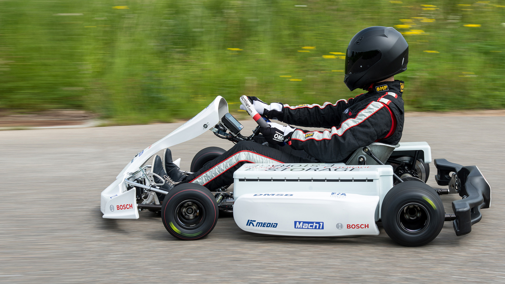 Bosch makes racing karts clean and quiet - Bosch Media Service