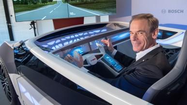 """Bosch-Chef Denner: """"Das Auto, wie wir es kennen, ist bald Geschichte"""""""