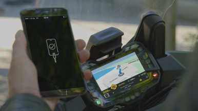 Smartphone integration: Bosch connects motorcycles