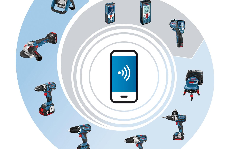 Bosch Entfernungsmesser Glm : Bosch baut connectivity system für profis weiter aus media