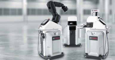 Bosch APAS production assistant makes a fine barista