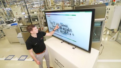 Climate action – Bosch Homburg energy management