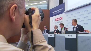 Footage Bilanz-Pressekonferenz 2015