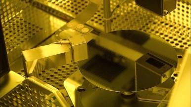 Waferfab und Sensor Fertigung