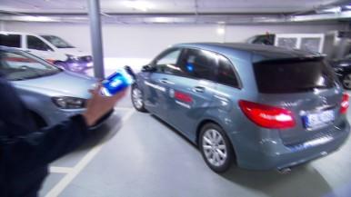 Das Auto lernt parken - Vorführung Homezone Parkassistent