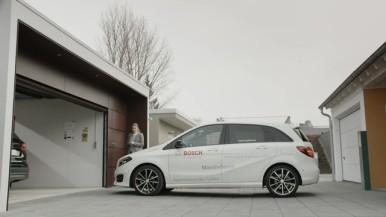 Garagen-Parkassistent