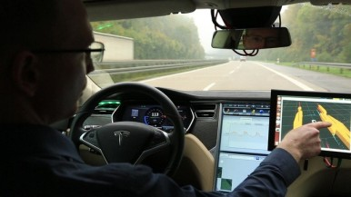 Automated driving on German Autobahn A81