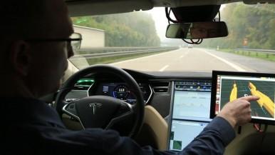 Automatisiertes Fahren auf der A81