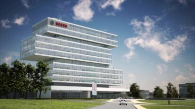 Renningen - neues Zentrum für Forschung und Entwicklung - Footage
