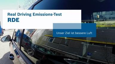 So testet Bosch Diesel-Technik auf der Straße